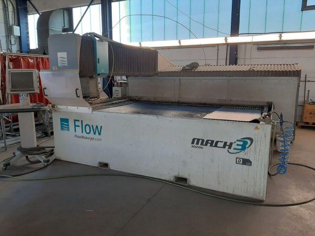 2D vattenskärning FLO MACH MACH3 3020B 2013