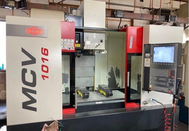 Centro de mecanizado vertical CNC MAS MCV 1016 2018