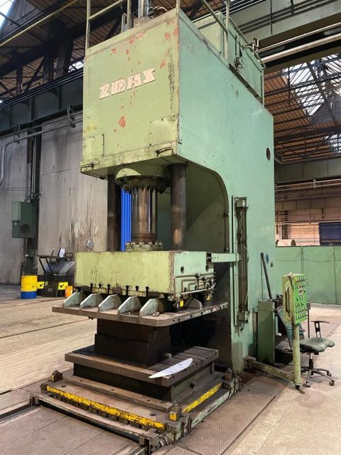 C Frame Hydraulic Press ZDAS C 400 2021