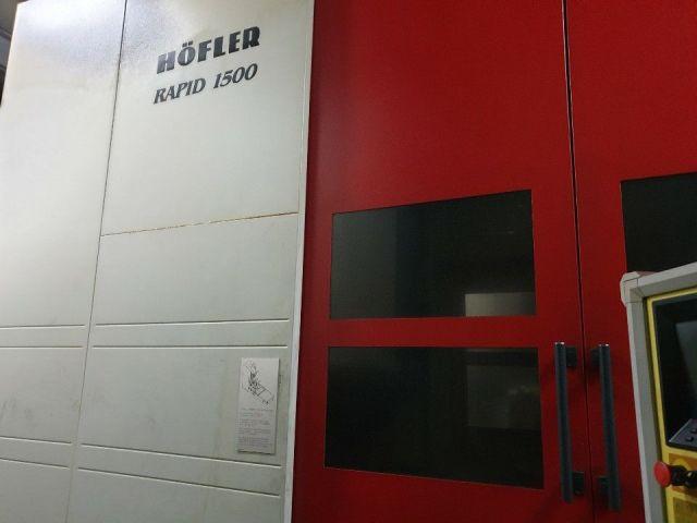 Fogaskerék-köszörülő gép HOFLER RAPID 1500 2004