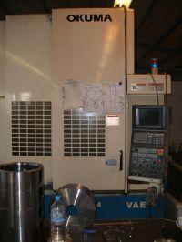Centro de mecanizado vertical CNC OKUMA MX-45