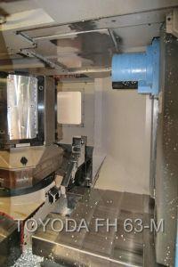CNC centro de usinagem horizontal TOYODA FH 63 M 2001-Foto 4