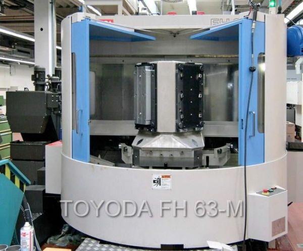 CNC centro de usinagem horizontal TOYODA FH 63 M 2001
