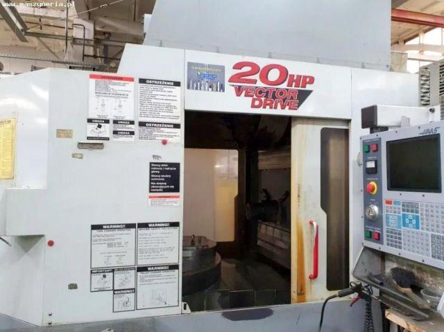 Centrum frezarskie poziome CNC HAAS HS 1RP HE 2002