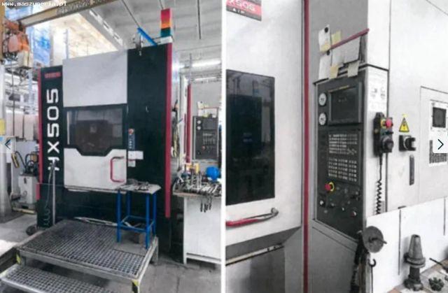 Centro de mecanizado vertical CNC QUASER HX505 AP 2010