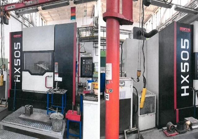 CNC Horizontal Machining Center QUASER HX505 AP/6B 2014