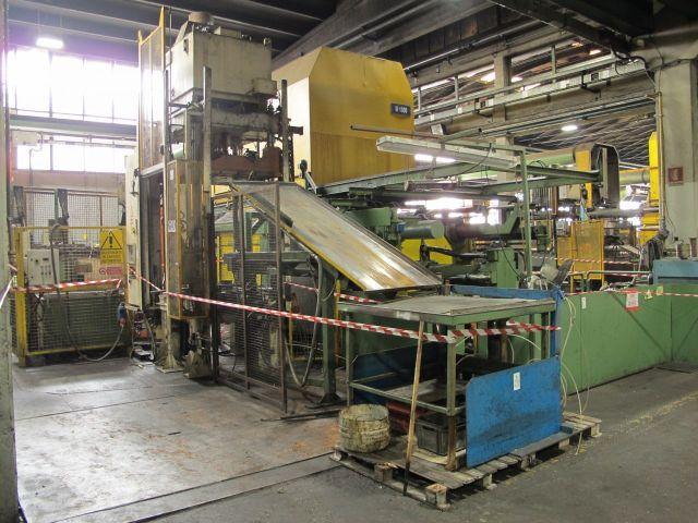 Pressa idraulica a due montanti Robopress trimming press 2008