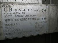 Forno fusorio Cucchi CBF 1500 2001-Foto 9