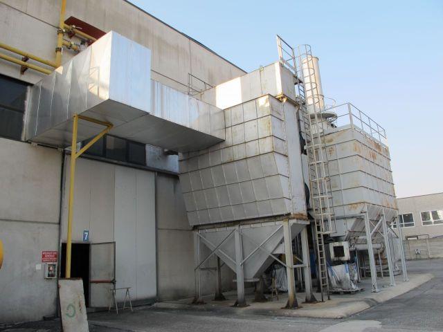 Smeltoven Impianto aspirazione forni con scambiatore IMP2 2004