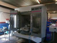 CNC verticaal bewerkingscentrum DECKEL MAHO MC 600 U