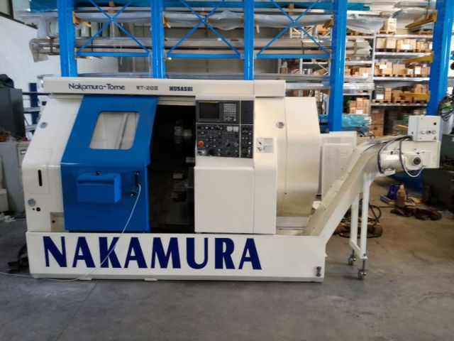 Tornio  CNC NAKAMURA TOME WT 20 II 1999