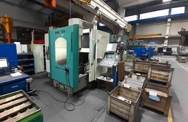 CNC Vertical Machining Center DECKEL MAHO DMC 70 V 1996