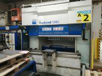 Prensa plegadora hidráulica CNC TRUMPF TruBend 5085