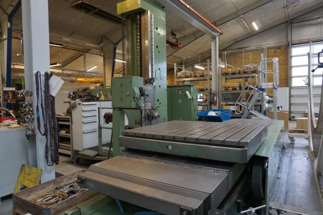 Horizontal Boring Machine TOS WHN13CNC 1992