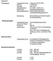 CNC horisontell fleroperationsmaskin MAKA AR 37 5-OSI 2001-Foto 10
