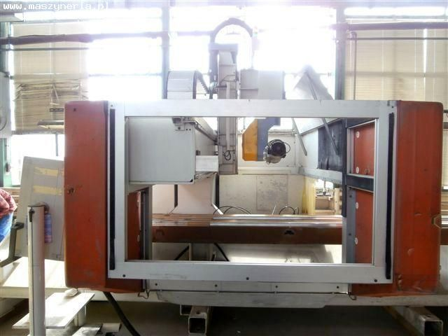 CNC horisontell fleroperationsmaskin MAKA AR 37 5-OSI 2001