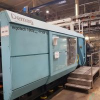 Plastics Injection Molding Machine DEMAG ERGOTECH SYSTEC 1000/1400-11500