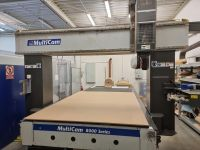CNC centro de usinagem vertical MULTICAM 8000 Series
