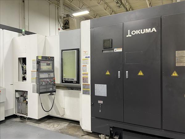CNC Horizontal Machining Center OKUMA MB5000H 2005