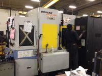 Horizontales CNC-Fräszentrum DOOSAN HM500
