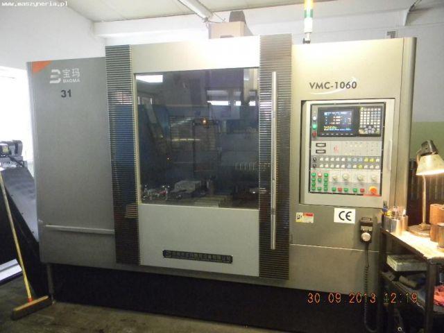 Centrum frezarskie pionowe CNC BAOMA VMC-1060 2007