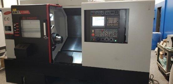CNC Lathe SAMSUNG SL 2500BY 2016