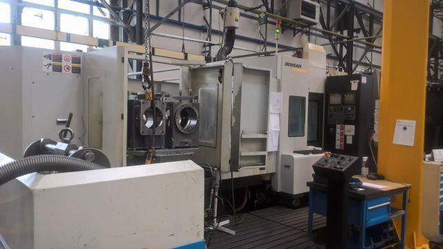 Horizontální obráběcí centrum CNC DOOSAN ACE HM 500 2007