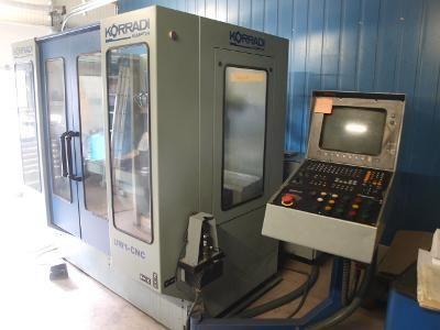 Werkzeugfräsmaschine KORRADI UW 1 CNC 1994
