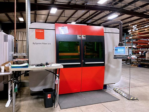 3D Laser BYSTRONIC BySprint 3015 2014