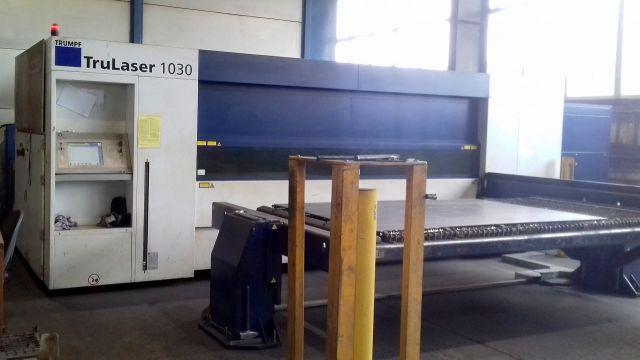 Laserschneide 2D TRUMPF TRULASER 1030 FIBER 2015