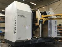 CNC Vertical Machining Center ALZMETALL FS 2500 LB/DB 2005-Photo 2