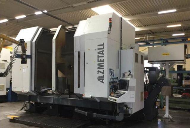 CNC Vertical Machining Center ALZMETALL FS 2500 LB/DB 2005