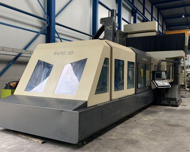 CNC Vertical Machining Center NICOLAS CORREA Rapid 50 2004