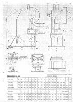 Excentrický lis SMV PRESSES CO1250-2 1995-Fotografie 15