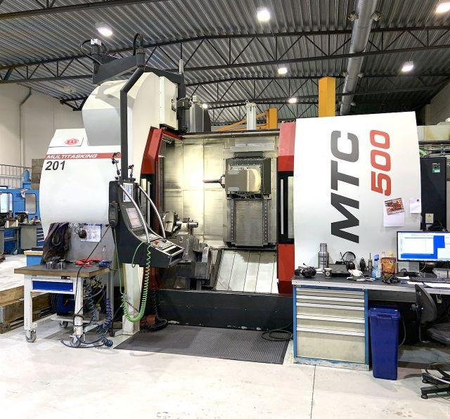 Sústruženie a frézovanie centrum MAS MTC 500i 2014