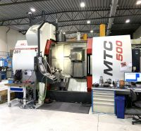 CNC Dreh-Fräszentrum MAS Multicut 500i