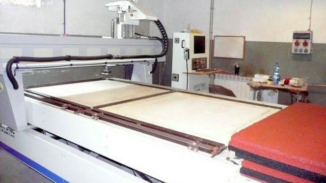 CNC portaal freesmachine INFOTEC 2515 ENERGY 2015