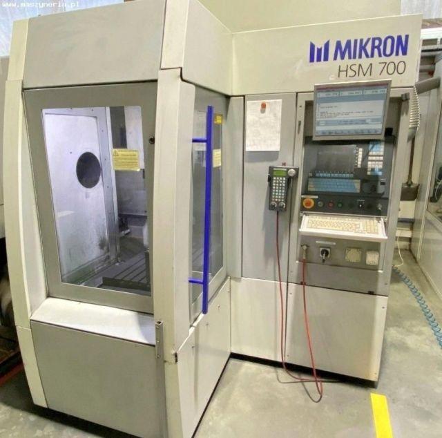 CNC vertikal fleroperationsmaskin MIKRON HSM 700 1998