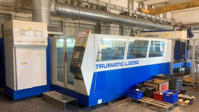 2D Laser TURMPF TRUMATIC L 3050 5KW 2005