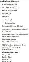 Flachschleifmaschine MAGERLE MFP 220-50 / 2.0 M 1993-Bild 4