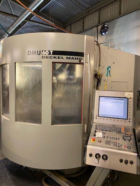 CNC Vertical Machining Center DECKEL MAHO DMU 60T 5 axis 2002