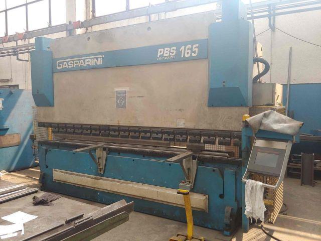 Pressa piegatrice idraulica di CNC GASPARINI PBS 165/4000 2003