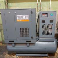 Screw Compressor WALTER SFTG 11 SXP COMBO