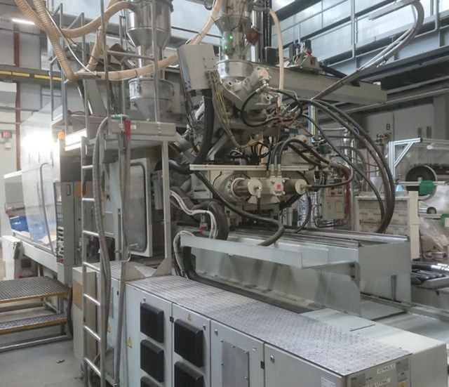 Plastics Injection Molding Machine ENGEL ES 750H 500W/ 500 HL 2F 2000