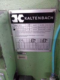 Circulaire koude zaag KALTENBACH SKL 420 1975-Foto 3
