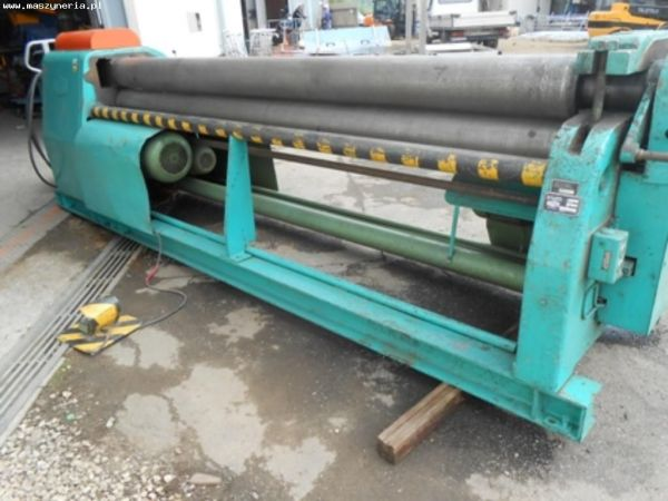 3 roll plate bøying maskin FASTI 3040 x 6 2007