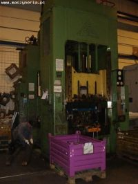 H Frame Hydraulic Press SMG HZPU 250-1250/1000