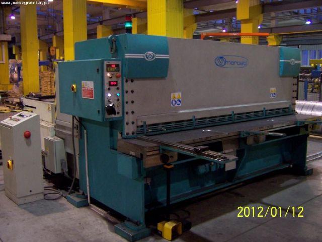 Nożyce gilotynowe hydrauliczne NC VIMERCATI CSI 3050/6 2006