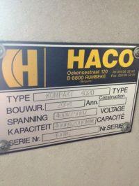 Plasmaschneider 2D HACO KOMPAKT 4020 2004-Bild 16
