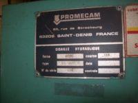 Hydraulisk giljotin skjær PROMECAM GH 6302 1980-Bilde 3